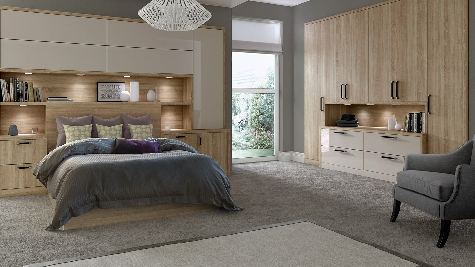 Daval Fitted Bedrooms by Solent Kitchen Design
