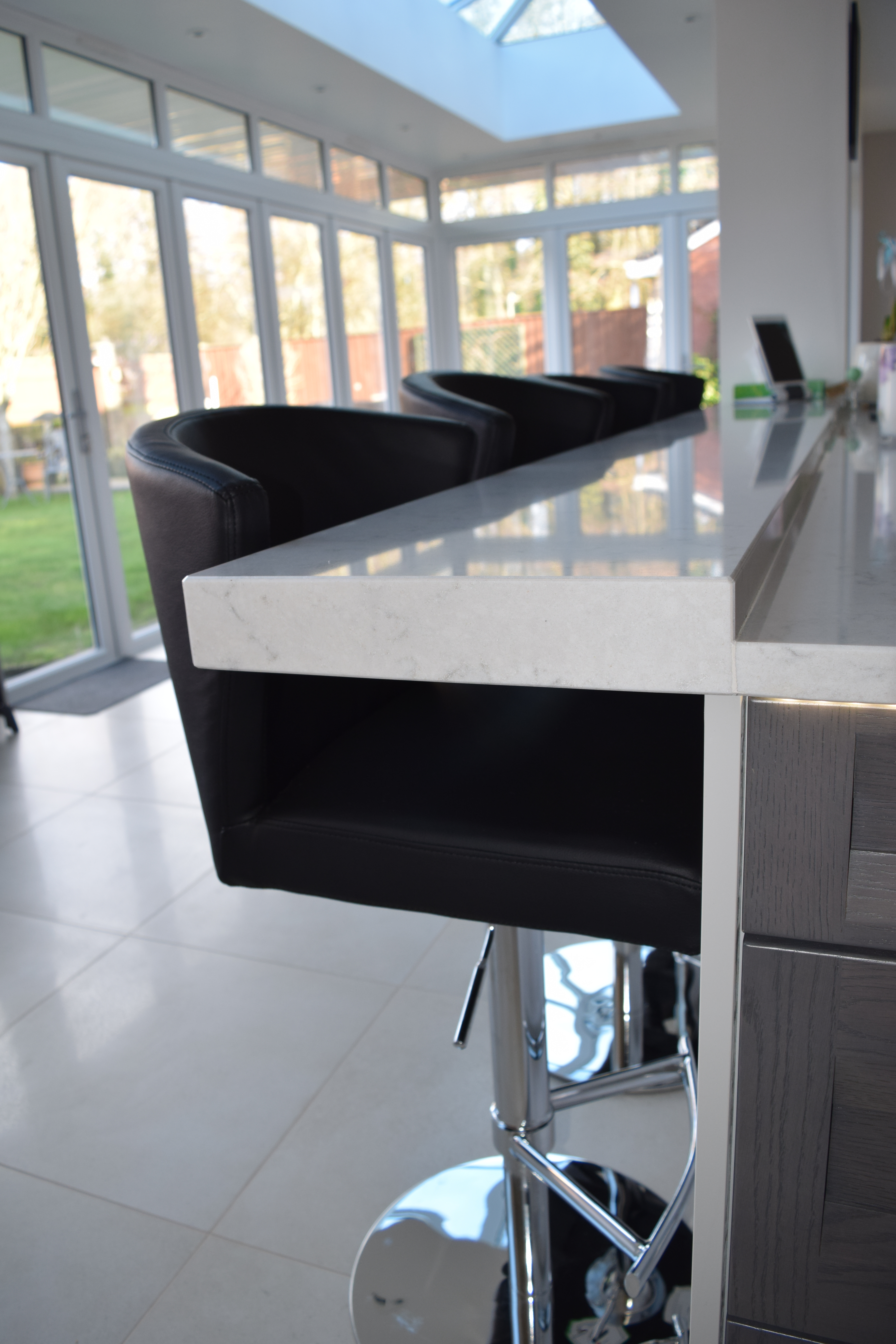 Kitchen Living in Chandlers Ford by Solent Kitchen Design