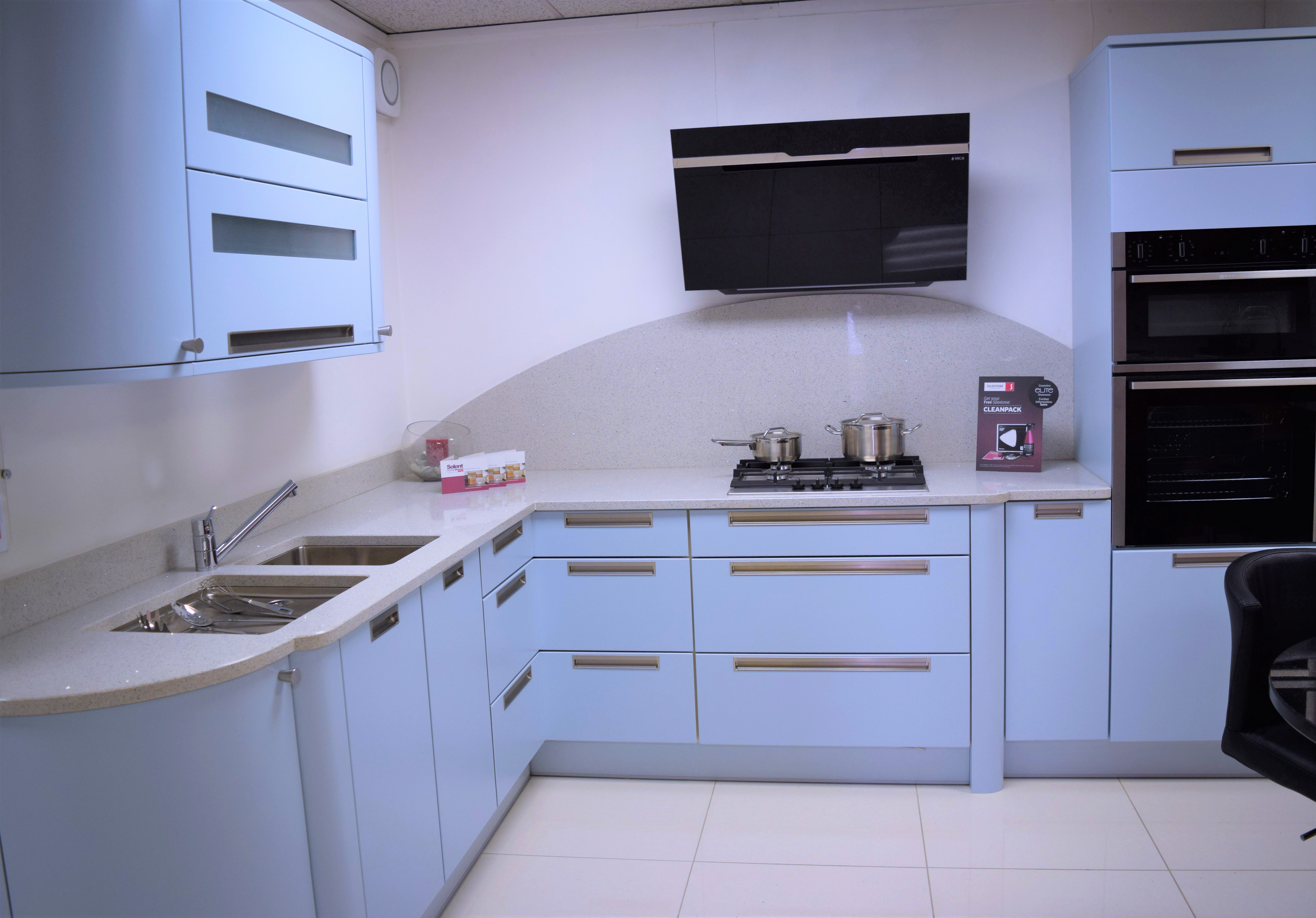 Retro Blue Kitchen Southampton