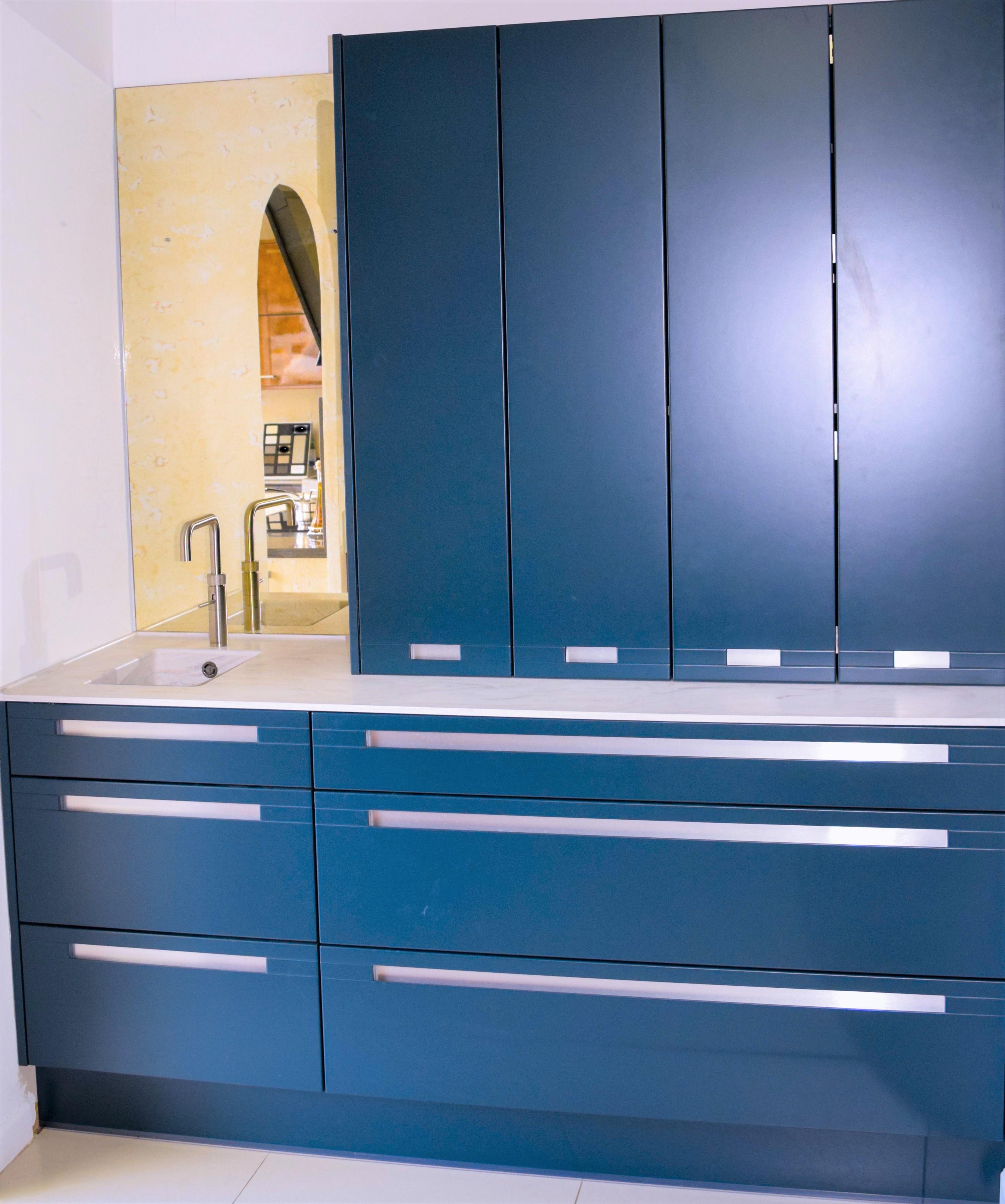 Blue Hague Kitchen in Southampton