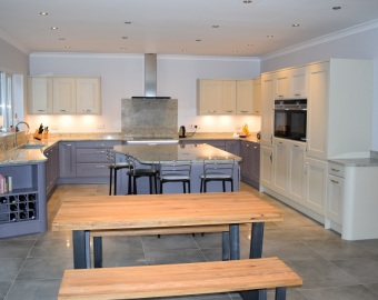 Winchester Kitchen installation