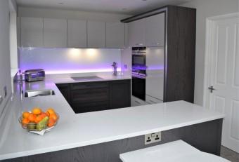 Bespoke Contemporary kitchen, Winchester