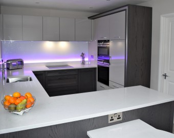 Bespoke Contemporary kitchen, Winchester