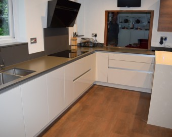 Bespoke Handless kitchen, Southampton