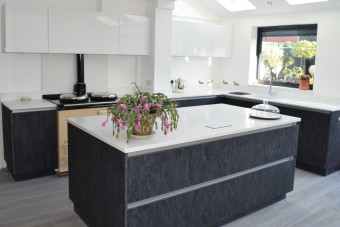 Contemporary kitchen Portsmouth, Hampshire