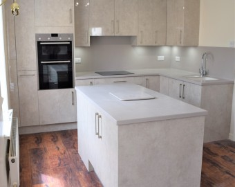 Kitchen in modern apparment, Southampton