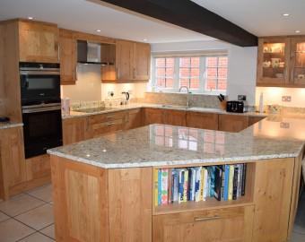 Modern solid wood shaker kitchens, Hedge End