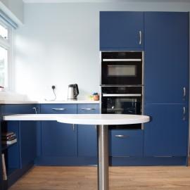 Blue kitchens Southampton
