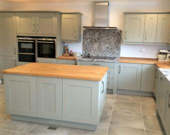 Bespoke solid wood kitchen, Lymington