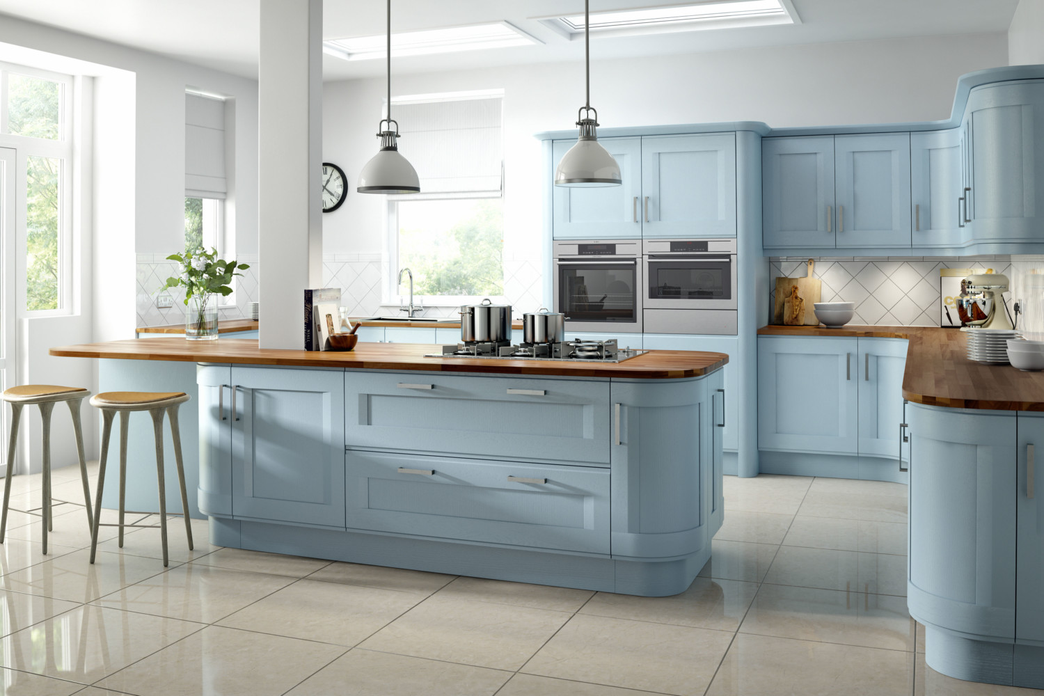 Shaker Kitchens Southampton | Blue kitchens Southampton