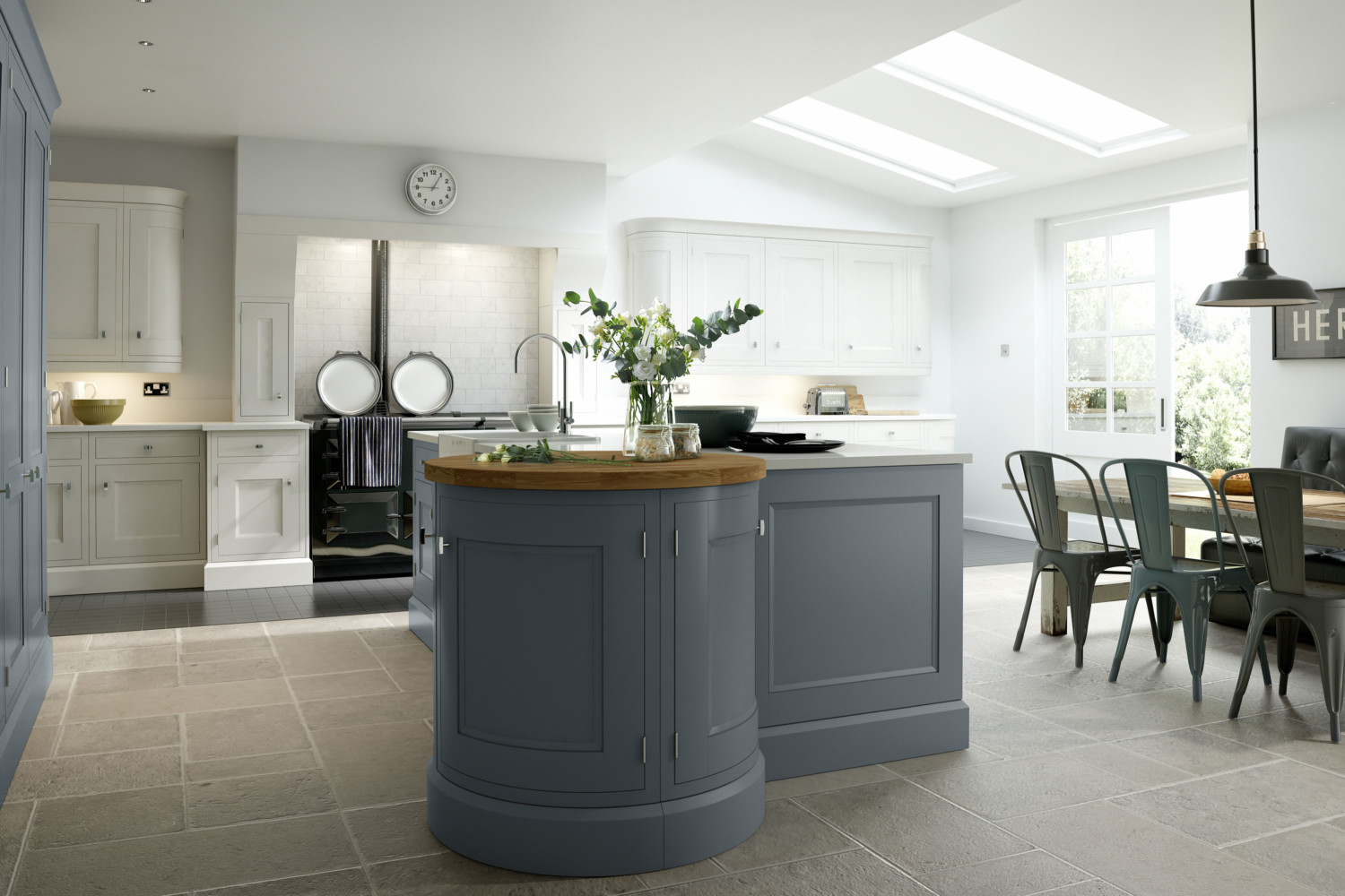 Kitchens Southampton | Blue Kitchens | Shaker kitchens