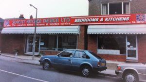 Solent Kitchen Design Showroom 1984