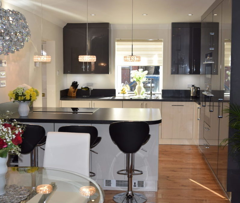 Adding sparkle to a Bishops Waltham home