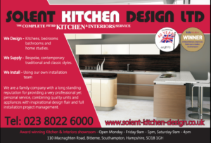 Solent Kitchen Design 1990's advert
