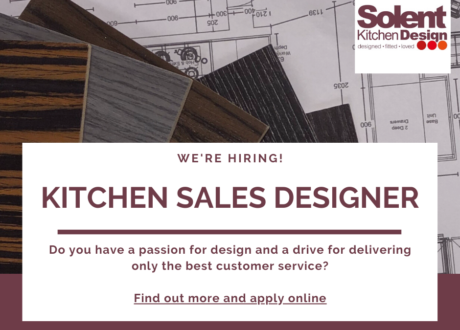 Vacancy – Kitchen Sales Designer