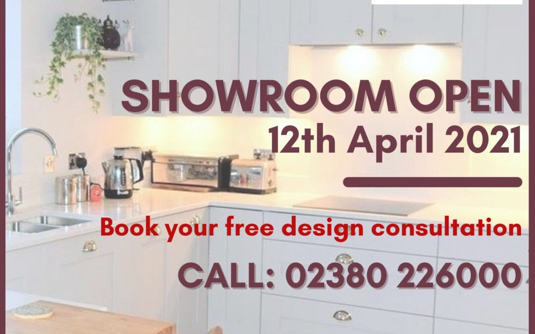 Covid Safe Showroom Reopening – April 2021
